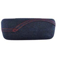 ราคา กล่องแว่นตา ลายผ้ายีนส์ รุ่น I3019 Denim Unbranded Generic