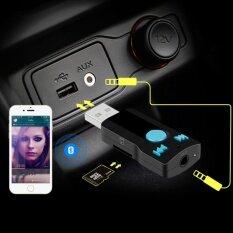 ขาย ซื้อ ออนไลน์ Iของแท้100 Bc07 Usb Bluetooth Audio Receiver Car Bluetooth Speakerphone Mp3 Caller Id Card