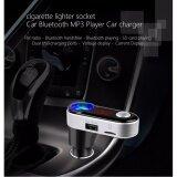 ทบทวน ของแท้100 Bc09B Bluetooth Car Charger Fm Modulator บลูทูธในรถยนต์ Car Kit Wireless Fm Bc