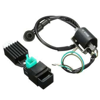 Ignition Coil + CDI UNIT + Regulator 90 110cc 125cc PIT Quad Dirt Bike ATV Buggy - intl-