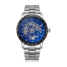 ซื้อ Ik แฟชั่นสีแฟชั่นนาฬิกาเรือนสเตนเลสออโต้นาฬิกาสแตนเลสบุรุษนาฬิกาข้อมือ 16 นาฬิกาสไตล์ นานาชาติ Ik Colouring ถูก