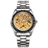 ราคา Ik Coloring เหล็กกล้าไร้สนิมออโตเมติกนาฬิกานาฬิกาข้อมือ Es ผู้ชายยี่ห้อโปร่งใสโครงกระดูกกลวงทหารนาฬิกานาฬิกาข้อมือ 3328 เป็นต้นฉบับ