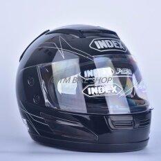ขาย Index หมวกกันน็อค รุ่น 811 I Shield สีดำ ผู้ค้าส่ง