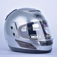 ส่วนลด Index หมวกกันน็อค รุ่น 811 I Shield สีเทาอลูมินั่ม กรุงเทพมหานคร