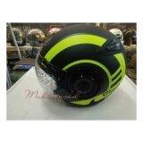ซื้อ หมวกกันน็อค Index Giono No 3 สีดำ เขียวด้าน Index Helmet ออนไลน์