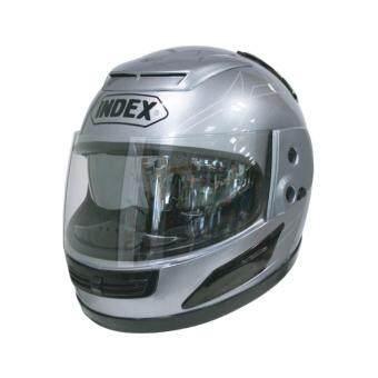 INDEX หมวกกันน็อค เต็มใบINDEX helmet ลิขสิทธิ์แท้ รุ่นหน้ากาก 2 ชั้น 811 i SHIELD