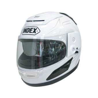 แนะนำ INDEX หมวกกันน็อค เต็มใบ INDEX helmet ลิขสิทธิ์แท้ รุ่นหน้ากาก 2 ชั้น 811 i SHIELD
