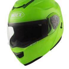 ขาย Index หมวกกันน็อค เต็มใบ ลิขสิทธิ์แท้ Index Helmet รุ่น Enzo หน้ากาก 2 ชั้น เปิดคาง
