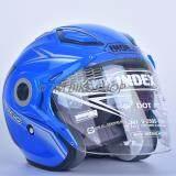 ราคา หมวกกันน็อค Index รุ่น Titan 7 I Shield สีน้ำเงิน ราคาถูกที่สุด