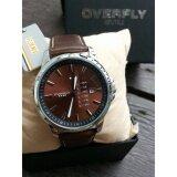 โปรโมชั่น Overfly Eyki นาฬิกาข้อมือผู้ชาย สีน้ำตาล สายหนัง รุ่น Ekbl 8992 ไทย