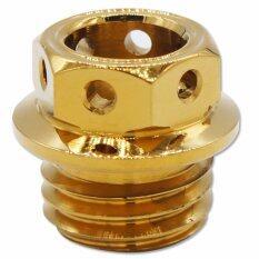 โปรโมชั่น Infinity อุดน้ำมันเครื่อง หัวเจาะ เกลียวหยาบ สีทอง ไทย