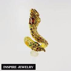 ขาย ซื้อ Inspire Jewelry แหวนพญานาคนพเก้า ตัวเรือนหุ้มทองแท้ 100 24K พรเก้าประการ นำโชค เสริมดวง ปรับขนาดได้