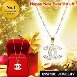 ซื้อ Inspire Jewelry จี้เพชรสวิส งานจิวเวลลี่ Gold Plated Diamond Clonning Gold ออนไลน์ ถูก