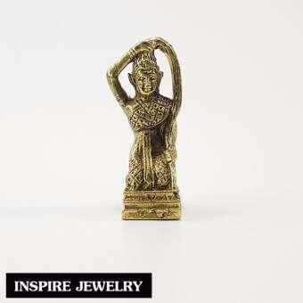 Inspire Jewelry ,พระแม่ธรณี ทองเหลือง เสริมดวง เสริมบารมี เจริญรุ่งเรือง เป็นสิริมงคลกับตัวเองและที่-