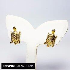 ซื้อ Inspire Jewelry ต่างหูเต่า หุ้มทองแท้ 100 24K ขาLock นำโชค เสริมดวง ถูก ใน กรุงเทพมหานคร