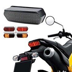 ราคา Integrated Led Tail Turn Signal Brake Light For Honda Grom 125 Msx Smoke 14 16 Intl ที่สุด