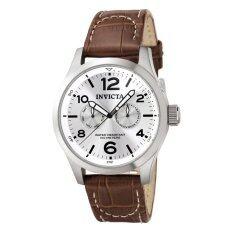 ขาย Invicta I Force Men S Brown Leather Strap Watch 765 Invicta เป็นต้นฉบับ
