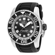 ซื้อ Invicta Pro Diver Men S Black Polyurethane Strap Watch 14660 ถูก ใน ไทย