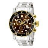ราคา Invicta Pro Diver Men S Steel Stainless Steel Strap Watch 80045 Invicta เป็นต้นฉบับ