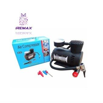 iRemax AIR Compressor ปั้มลมไฟฟ้า ปั้มลมรถยนต์ ปั๊มเติมลมยาง เครื่องสูบลม เติมลมยาง พกพา 300PSI 12V