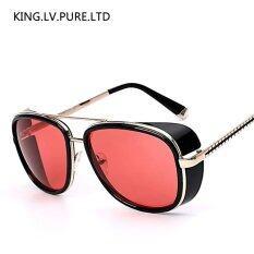 ราคา Iron Man 3 Matsuda Tony Sunglasses Brand Designer Sunglass Vintage Retro Fashion Glasses Oculos Uv400 Intl เป็นต้นฉบับ