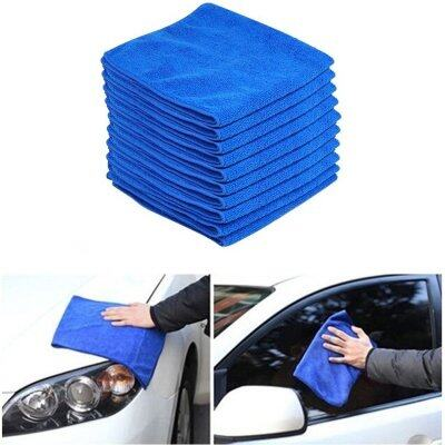 Itp ผ้าไมโครไฟเบอร์ Microfiber Cleaning Auto Car Detailing Soft Cloths Wash Towel Duster 40X40Cm 10 ผืน เป็นต้นฉบับ