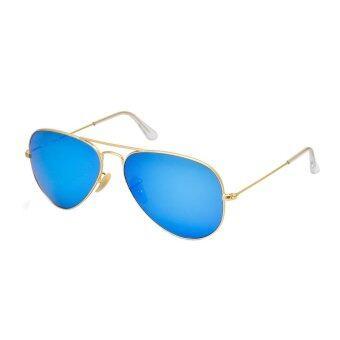 iTrend Glasses แว่นตากันแดดแฟชั่นสไตล์สำหรับเด็ก รุ่น Aviator Kid (Blue)