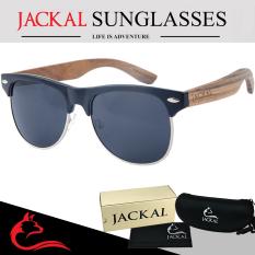 ซื้อ Jackal แว่นกันแดดขาไม้ Jackal Semi Wooden Sunglasses รุ่น Morgan Mr008P ออนไลน์