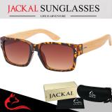 ซื้อ Jackal แว่นกันแดดขาไม้ Jackal Semi Wooden Sunglasses รุ่น Wise Wi003 Jackal