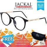 ขาย Jackal แว่นกรองแสงสีฟ้า รุ่น Op008 เฟรมสีดำ ขาสีทอง Jackal ออนไลน์
