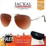 ซื้อ Jackal Sunglasses แว่นตากันแดด แจ็คเกิ้ล รุ่น Shipmaster Ii Js177 Gold Gradient Brown Lens เชียงใหม่