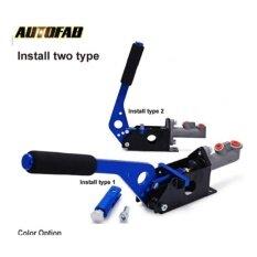 ราคา Japanese Shop Autofab Universal Hydraulic Handbrake E Brake Vertical Horizontal Drift For Honda Civic 2 3 4Dr 1992 1995 Af B11001 Blue Intl ถูก