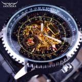 ราคา Jaragar Calibration Dial Display Golden Mechanical Movement Inside Transparent Case Mens Watch Luxury Male Wrist Watch Automatic Intl Jaragar
