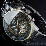 ราคา Jaragar Luxury Watch Men Day Month Tourbillon Mechanical Watches Stell Men S Watch Wristwatch Intl ใหม่