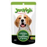 ซื้อ Jerhigh แบบซอง สำหรับสุนัข รสไก่และผัก 120G 12 Units ใน Thailand