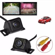 โปรโมชั่น Jj กล้องมองหลังติดรถยนต์ เลนส์มุมกว้าง 170 องศา สีดำ Jj