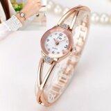 ราคา Jj นาฬิกาข้อมือผู้หญิง นาฬิกาแฟชั่น สีทอง ออนไลน์