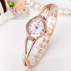 โปรโมชั่น Jj นาฬิกาข้อมือผู้หญิง นาฬิกาแฟชั่น สีทอง กรุงเทพมหานคร