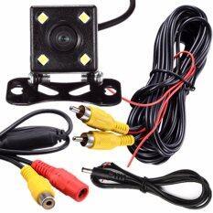 ราคา Jj กล้องมองหลังติดรถยนต์ ไฟ Led Black เป็นต้นฉบับ