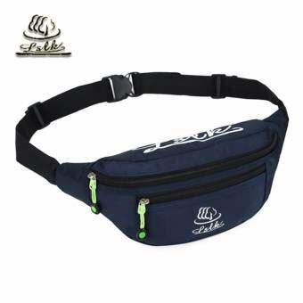 JJ กระเป๋าผ้า High quality nylon fabric กระเป๋าคาดเอว กระเป๋าวิ่ง กระเป๋าสะพาย Travel Waist Bag-