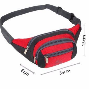 JJ กระเป๋าผ้า High quality nylon fabric กระเป๋าคาดเอว กระเป๋าวิ่ง กระเป๋าสะพาย Travel Waist Bag รุ่น 906
