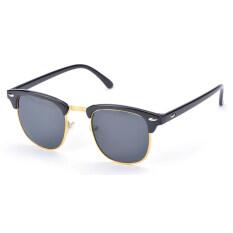 ส่วนลด สินค้า Jo ในชายหญิง Retro Driving แว่นตากันแดด Night Vision แว่นตาลด Glare ทอง