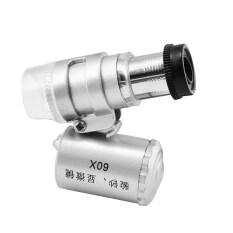 โปรโมชั่น Jo In Mini 60X Microscope Loupe Led Magnifier Currency Detecting Intl Intl