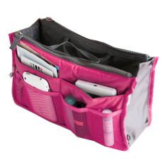 ซื้อ Jo In Women Travel Insert Handbag Organiser Purse Large Liner Organizer Tidy Bag Pouch Rose Red Unbranded Generic ถูก