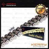 ราคา Jomthai Asahi โซ่พระอาทิตย์ X Ring ขนาด 428 132ข้อ มีกิ๊ปล็อค สีดำติดรถ 428 132 Asmx Bb