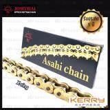ขาย Jomthai Asahi โซ่พระอาทิตย์ X Ring ขนาด 520 120ข้อ มีกิ๊ปล็อค และหมุดย้ำ สีทอง ทอง 520 120 Asmx Gg ราคาถูกที่สุด