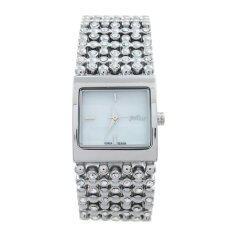 ราคา ราคาถูกที่สุด Julius นาฬิกาข้อมือผู้หญิง สาย ตัวเรือน โลหะผสม รุ่น J839 Silver W