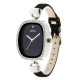 ซื้อ Julius นาฬิกาข้อมือผู้หญิง สายหนัง รุ่น Ja 298 Black Bl ใหม่