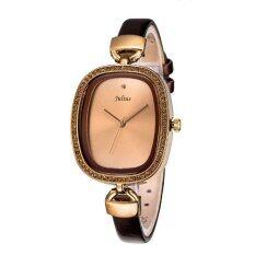 ราคา Julius นาฬิกาข้อมือผู้หญิง สายหนัง รุ่น Ja 298 Brown ใหม่ ถูก
