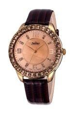 ส่วนลด Julius นาฬิกาสำหรับผู้หญิง สายหนัง รุ่น Ja 379 น้ำตาล Julius ใน กรุงเทพมหานคร
